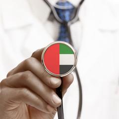 Stethoscope with national flag series - United Arab Emirates