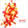 Abstract modern poligonal background