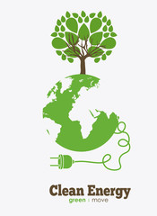 eco, ecology design, vector illustration.
