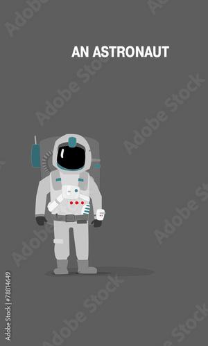 an Astronaut - 78814649