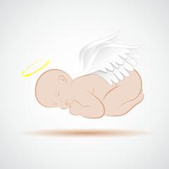 schlafender babyengel