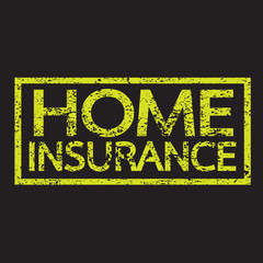 Home Insurance text , Home Insurance Word