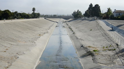 The Los Angeles River - Los Angeles