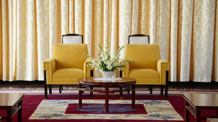 Vice Presidents Reception Salon - Independence Palace - Ho Chi Minh City