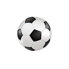 Pallone con sfondo bianco