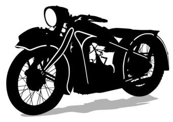 Retro old bike