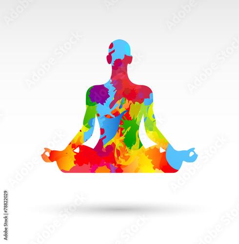 meditazione, yoga, fiore di loto © MG