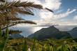 Sunset on Masca valley. Tenerife