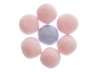 strawberry bon bon sweets
