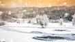 Winter landscape - 78828621
