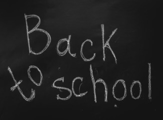 back to schoo on blackboard