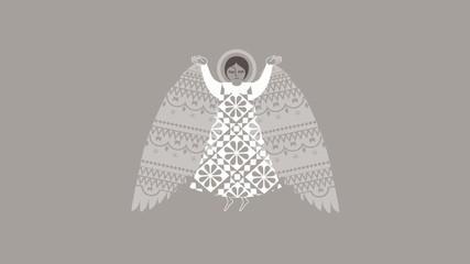 Angel / Holy / Easter / Religion / Congratulation / Resurrection