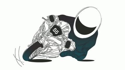 Motorcycle / Racer / Championship / Superbike / Motorbike /Sport