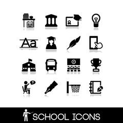 School icons set 2.