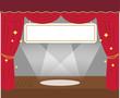 劇場の舞台と吊り看板 - 78829875