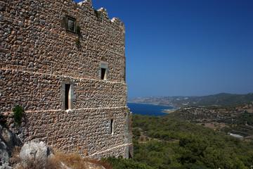 Rhodos Griechenland Akropolis Lindos