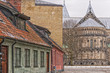 Lund Cathedral Street Scene