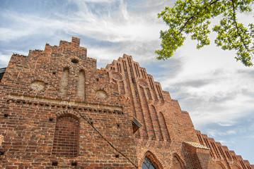 Ystad Monastery Facade