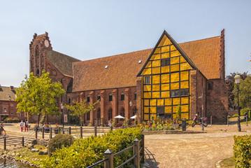 Ystad Monastery In Sweden