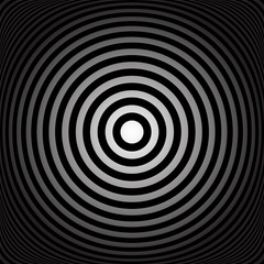 Concentric rings. Abstract circles texture.