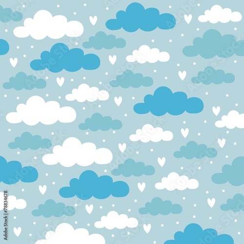 sky stars clouds background