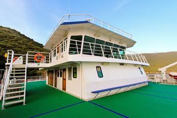 Ferry wheelhouse