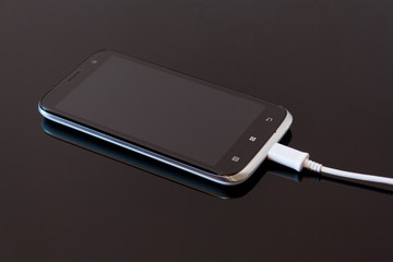 Smart Phone Charging with Cable