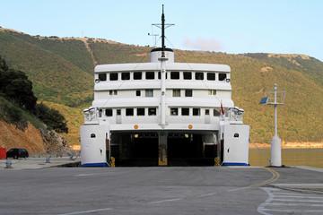Open ferryboat
