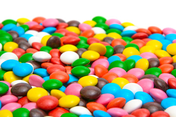 Colorful Background Sweet Tasty Bonbons Candy