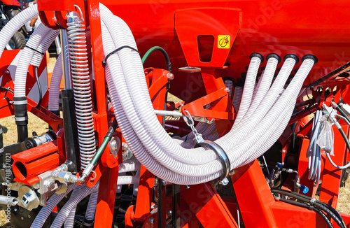 Pipes parts of the agricultural crop sprayer machinery - 78837821