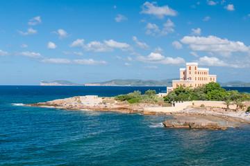 Mansion on the coast