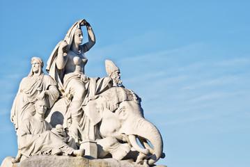 Memorial del principe alberto, Londres