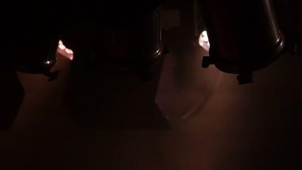 film spotlights - nightclub - bar music - light show