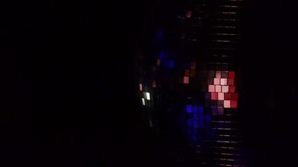 Disco mirror ball - nightclub - bar music - light show