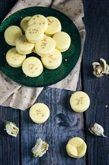 Makarons vanilla