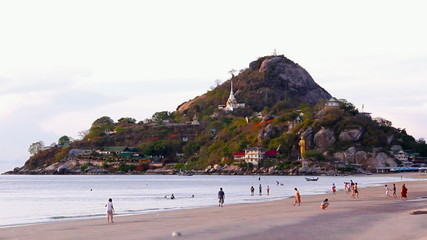 Timelapse Hua Hin Beach