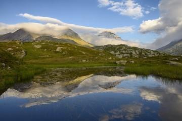 Giusalet ( 3313 m ) Cottian Alps ( France/ Italy)