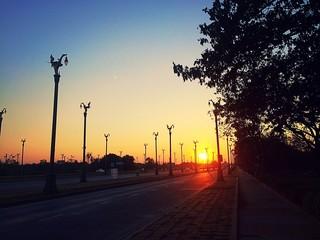 Utthayan., Road
