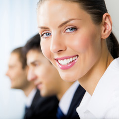 Portrait of young businesswoman at office