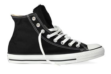 Black sneaker old school