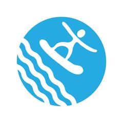 surf, vector icon