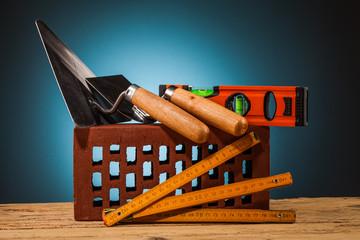 brick and mason builder tools