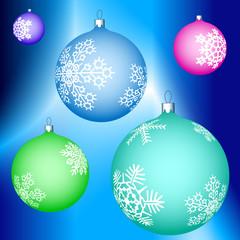 Cristmas balls decoration