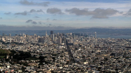 Time Lapse of San Francisco City View