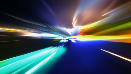Light Blurs VJ Loop