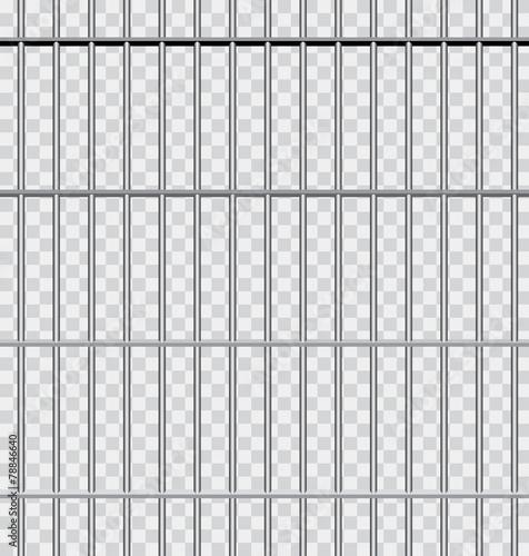 in jail transparent