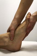 Manipulación pie