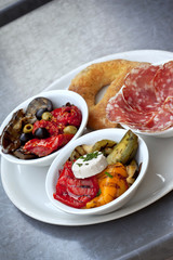 Tapas on a plate