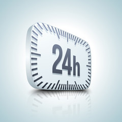 24 hour button
