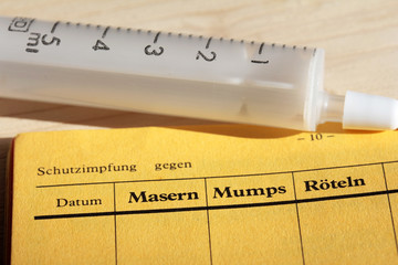 Schutzimpfung gegen Masern
